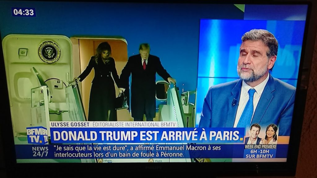 Donald Trump in Paris
