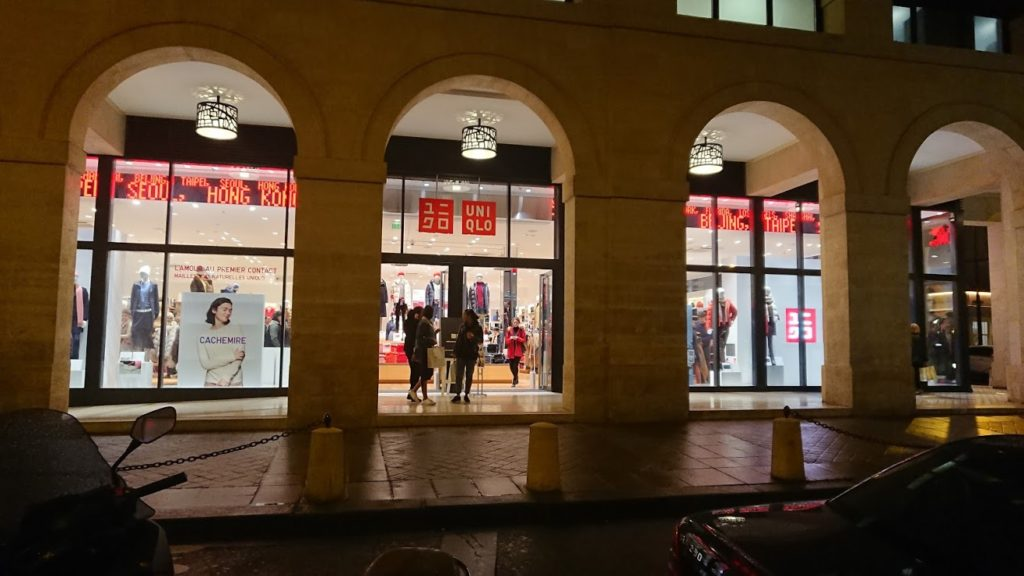 uniqlo a paris