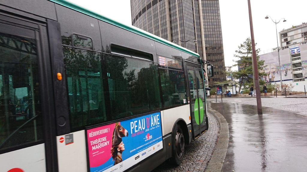 モンパルナスへのバス